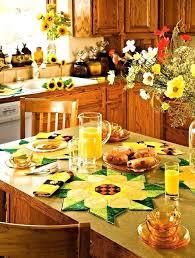 Yellow Kitchen Theme Ideas Kitchen Theme Ideas Kitchen Theme Ideas Sunflower Kitchen And Home