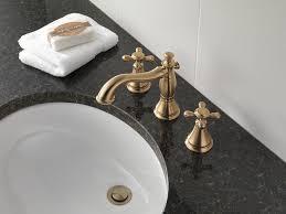 delta faucet 3597lf czmpu cassidy two handle wide spread bathroom
