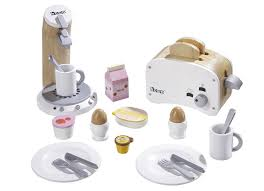 toaster kinderküche howa 4856 frühstücksset aus holz de spielzeug
