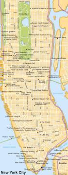 york city on map map of york city attractions planetware pennsylvania and