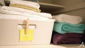 organizing the linen closet ask anna
