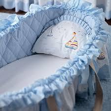 Baby Moses Basket Bedding Set Simply Sailing Moses Basket And Nursery Kid Bedding Sets In