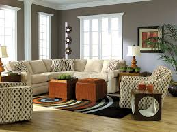 La Z Boy Living Room Chairs Furniture Exciting Lazy Boy Sectionals With Decorative Cushions