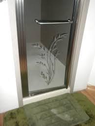 etched glass shower door designs 8 best shower etched doors images on pinterest etched glass