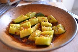 cuisine chinoise facile recette de salade chinoise de concombre mariné la recette facile