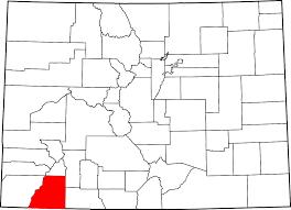 Durango Colorado Map by La Plata County Colorado Wikipedia