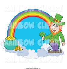 royalty free stock rainbow designs of leprechauns