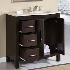 Sink Cabinet Bathroom 36 Silkroad Single Sink Cabinet Bathroom Vanity Hyp
