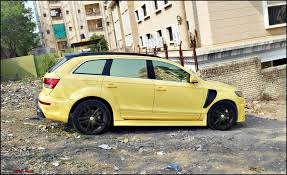 Audi Q7 Modified - pics of weird and wacky mod jobs page 1167 team bhp