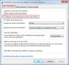 afficher outlook sur le bureau la barre des taches de windows aidewindows
