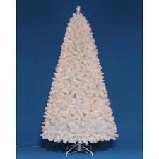 holiday living 7 ft jeffrey white incandescent artificial