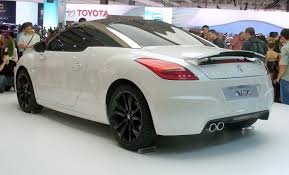peugeot rcz black peugeot rcz history of model photo gallery and list of modifications