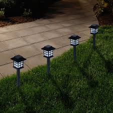 smart solar charleston 6 pack solar lights hayneedle