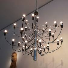 1950s Chandelier 2 X 2097 30 Hanging Lamp By Gino Sarfatti For Arteluce 1950s 60803