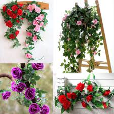 Fake Plants For Home Decor Hanging Silk Plants Promotion Shop For Promotional Hanging Silk