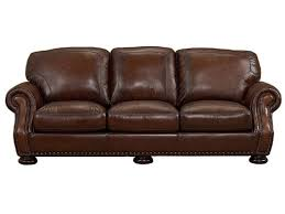Living Room Picasso Prairie Leather Sofa - Full leather sofas