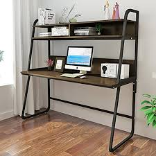 metal computer desk with hutch triblesigns computer desk with