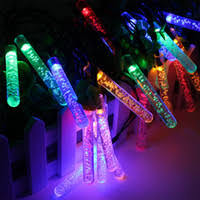 wholesale solar power icicle lights buy cheap solar power icicle