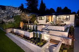 Backyard Terrace Ideas Terraced Landscape Design Simple Hga Architects Complete The