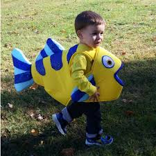 flounder fish body costume satin covered foam body arm by jolibe