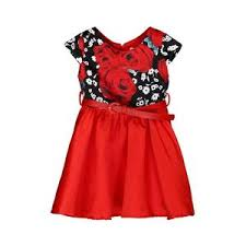pattern dress baby girl princess girls floral dresses summer baby girl rose flower pattern