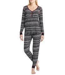 peanuts snoopy fair isle jersey pajamas dillards