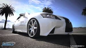 lexus winter rims lexus gs 350 cruising san francisco on vossen cv7 wheels by
