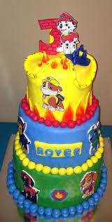 paw patrol cake story kay cake designs