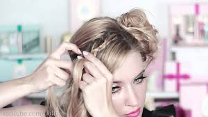 hairstyles for a party prom wedding braided side swept curls