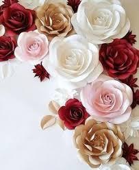 fleur de lis chagne flutes paper roses topiary crafting diy paper roses