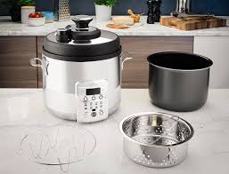 amazon com all clad cz720051 electric pressure cooker with