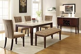 Cheap Kitchen Tables Sets by Dining Room Cool Dining Table With Bench And Chairs 7 Piece
