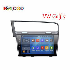 vii android 1024x600 10 1 inch for volkswagen vw golf 7 mk7 vii 2013 2014 2015