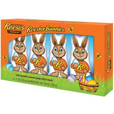 reese s easter bunny reese s easter peanut butter reester bunnies candy 4 count 4 8
