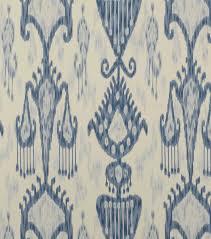 Ikat Home Decor by Home Decor Print Fabric Robert Allen Khandar Indigo Joann