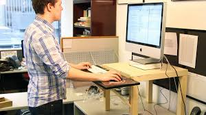 build your own standing desk for 22 money