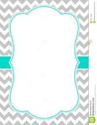 Baby Welcome Invitation Cards Templates Free Chevron Border Templateadmin Admin Baby Shower Ideas