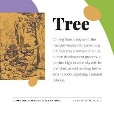 tree symbol meaning symbol meanings in tarot cards plants labyrinthos