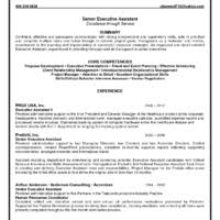 Executive Administrative Assistant Resume Examples by Helpful Page 2 Sample Of Executive Administrative Assistant Cv For