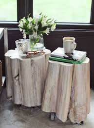 Tree Trunk Table Reclaimed Tree Trunk Tables For The Eco Friendly Home