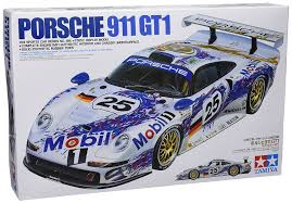 amazon com porsche 911 gt1 model car 1 24 tamiya toys u0026 games