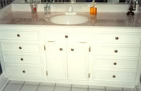 furniture custom built in vintage freestanding bathroom vanity