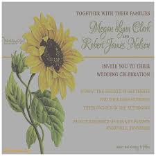 Sunflower Wedding Invitations Wedding Invitation Unique Sunflower Wedding Invitations Templates
