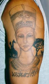11 nefertiti tattoo designs tattoos by drew winner