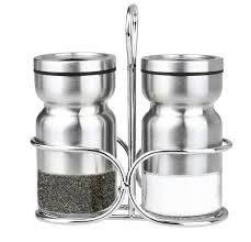 salt and pepper shakers cuisinox cuisinox salt and pepper shaker set with caddy reviews