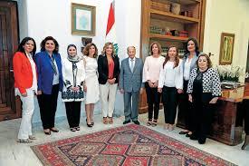 bureau president bureau exécutif de la commission nationale pour la femme libanaise