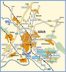 Local Map Forschungszentrum Jülich Local Map