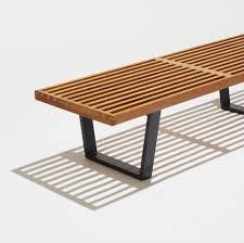 Slat Bench Coffee Table 173 George Nelson U0026 Associates Slat Bench Model 4690