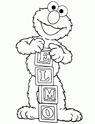 the amazing elmo printable coloring pages intended to motivate to
