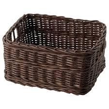 decoration storage baskets on wheels bin rattan storage baskets